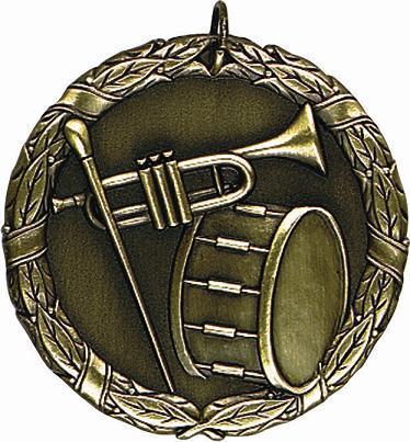 "2"" Band Medal"