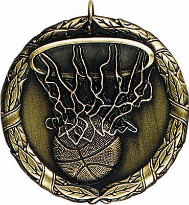"2"" Basketball Medal"