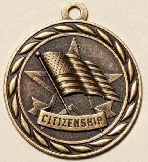 "2"" Citizenship Medal"
