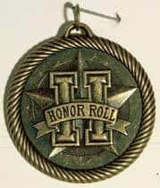 "2"" Honor Roll Value Medal"
