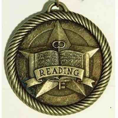 "2"" Reading Medal"