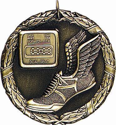 "2"" Track Medal"