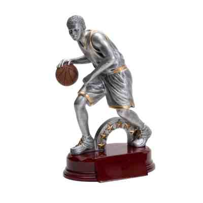 "8"" Male Basketball Trophy"