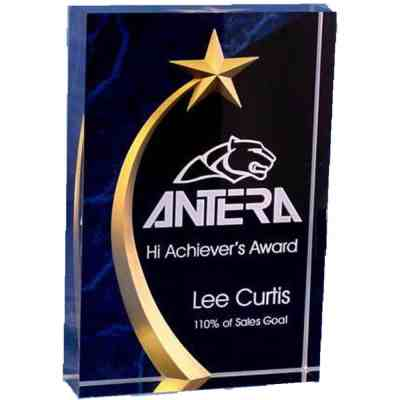 Carved Star Award AC252