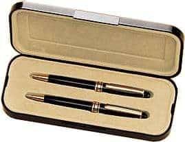 Black Brass Pen and Pencil Set