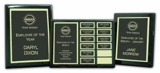Employee Recognition Program- Walnut Finish