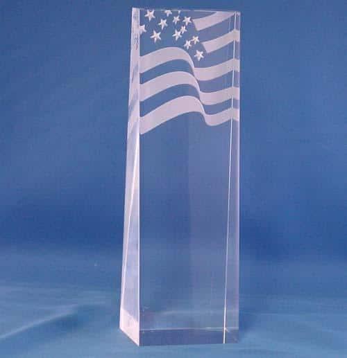 Flag Acrylic Award