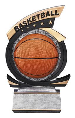 Gold Star Basketball Trophy