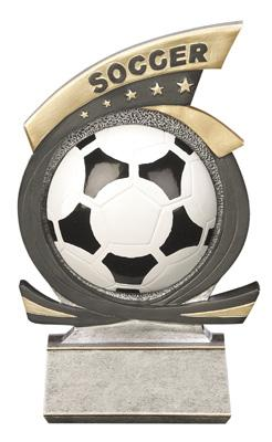 Gold Star Soccer Trophy