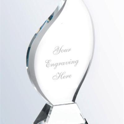 Large Crystal Flame Award
