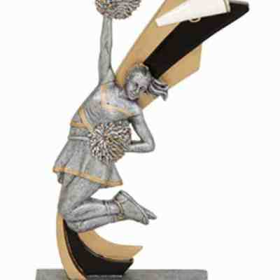 Live Action Cheerleading Trophy