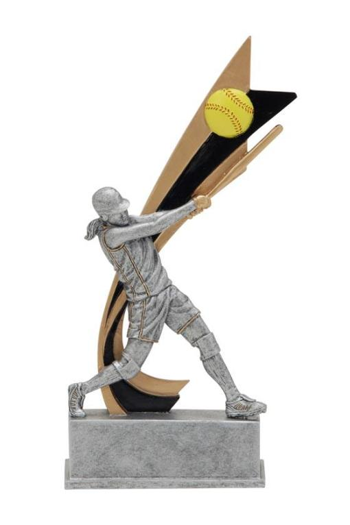 Live Action Softball Trophy