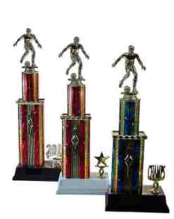 Mix Stacked Column Trophy