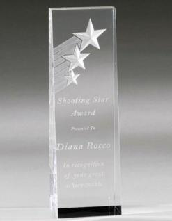 Shooting Stars Acrylic Award
