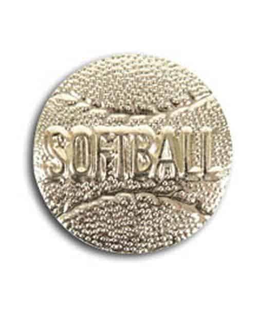 Softball Lapel Pin