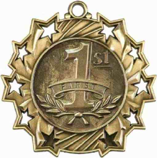 Ten Star First Prize Medal