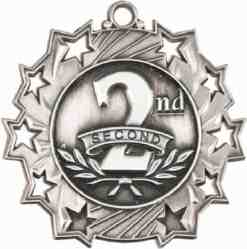Ten Star Second Prize Medal