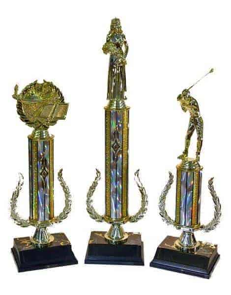 Wreath Riser Trophy