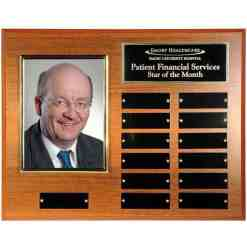 perpetual photo plaque