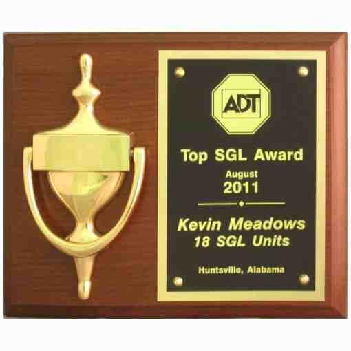 Door Knocker Plaque Award