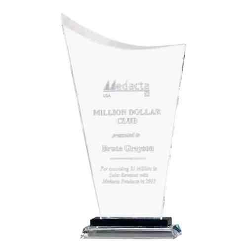 Comtemporary Sail Glass Award G2922