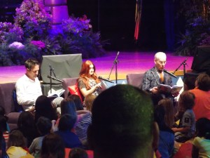 That time when Tim Gunn, Ariel Winter and David Arquette read books to my kids.