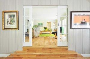 frames in a modern interior design