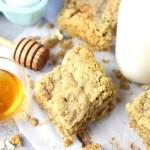 Easy Oatmeal Bars Recipe - Yum!