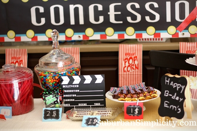 movie birthday party Movie Themed Birthday | Kids Birthday Idea movie birthday party