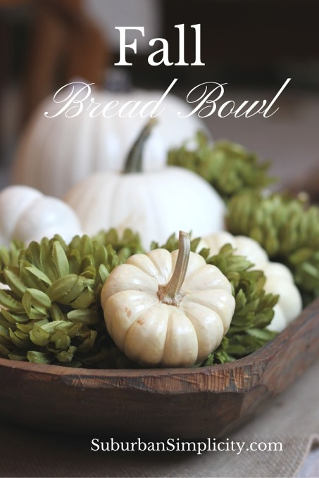 Fall Bread Bowl