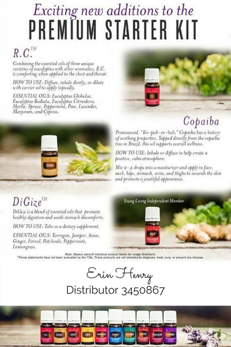 Erin Henry - Young Living Distributor
