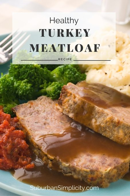 A Healthy turkey meatloaf recipe the whole family can enjoy. Since it's made without bread, it's gluten-free and paleo friendly, but still moist and delicious.