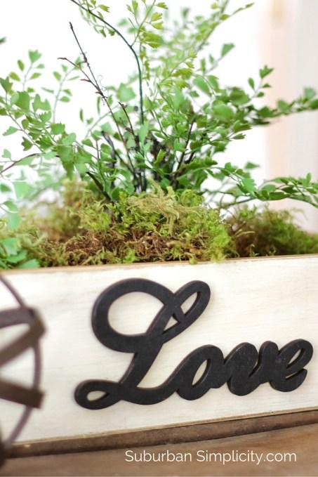 DIY Love Wood Box