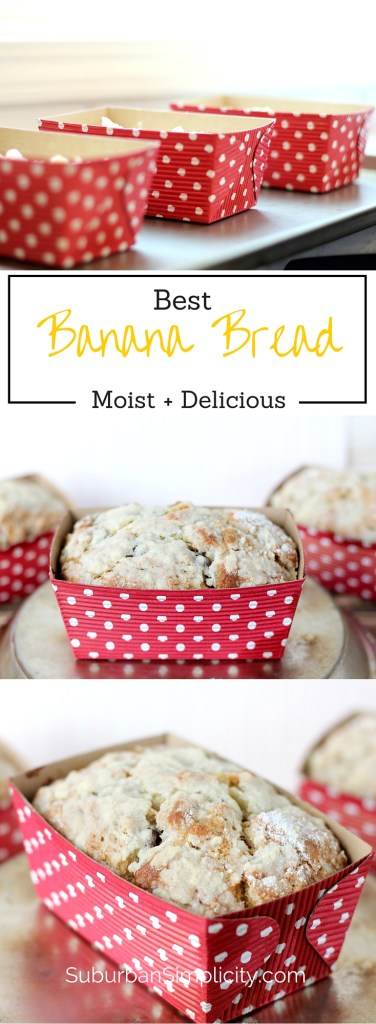 best Banana Bread - This recipe is Moist and Delicious every time.