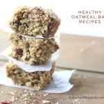 7 Healthy Oatmeal Bar Recipes