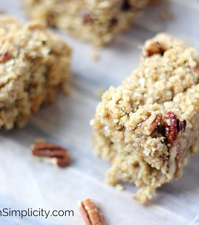 Oatmeal Streusel Bar Recipe