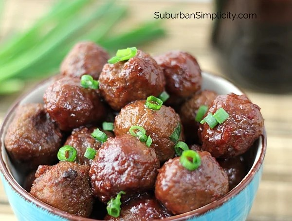 Easy Crockpot Meatballs