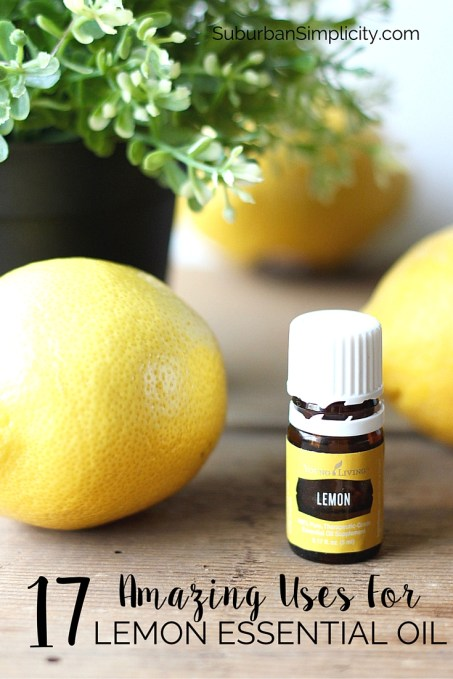 It's amazing how much Lemon Essential Oil can do! Here are 17 uses that you'll be surprised about too! Who knew it can sanitize and detoxify so well.