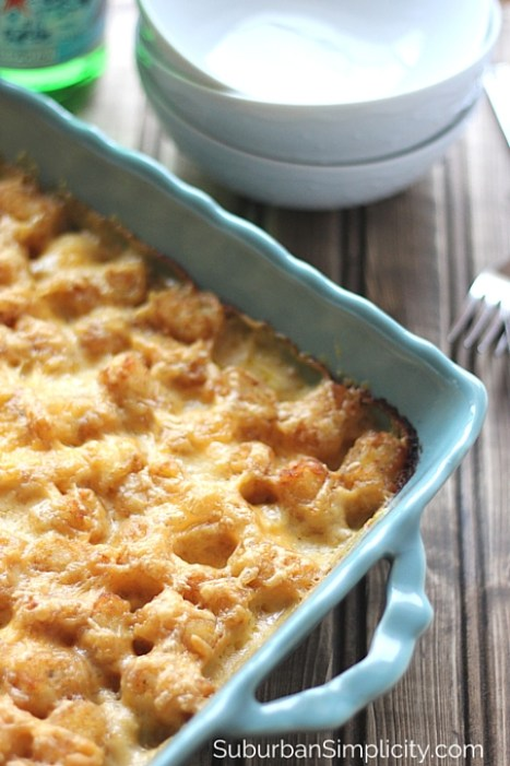 Delicious Tater Tot Casserole