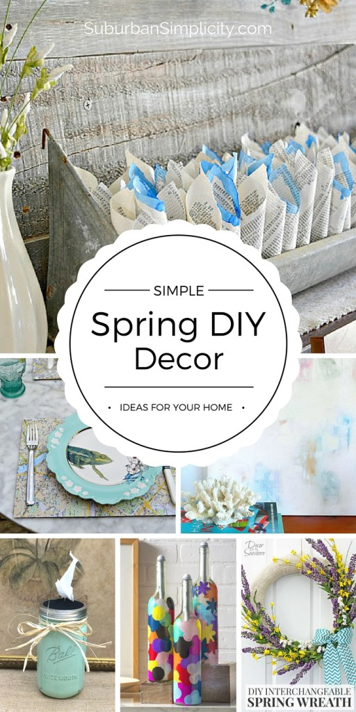 Simple Spring Diy Decor Ideas Inexpensive Diys For Spring