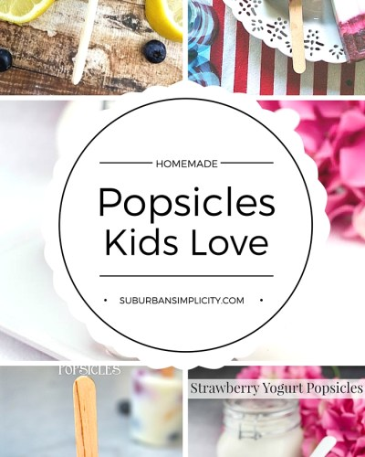 Keep the kids cool this summer with delicious popsicles recipes! Fruity, chocolatey, and oh, so dreamy. Homemade popsicles kids (+moms) love!