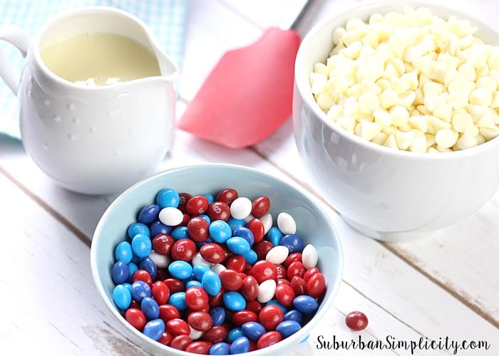 Skittles Fudge Ingredients