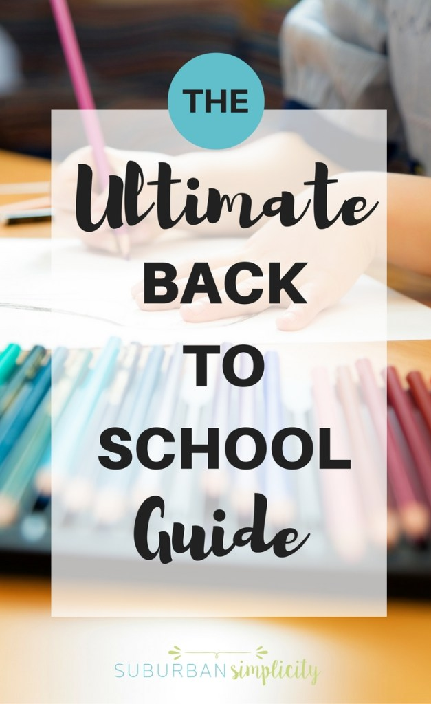 These Ultimate Back To School Tips give you EVERYTHING you need in one place! Organization, tips + tricks, recipes and more for your best school year ever!