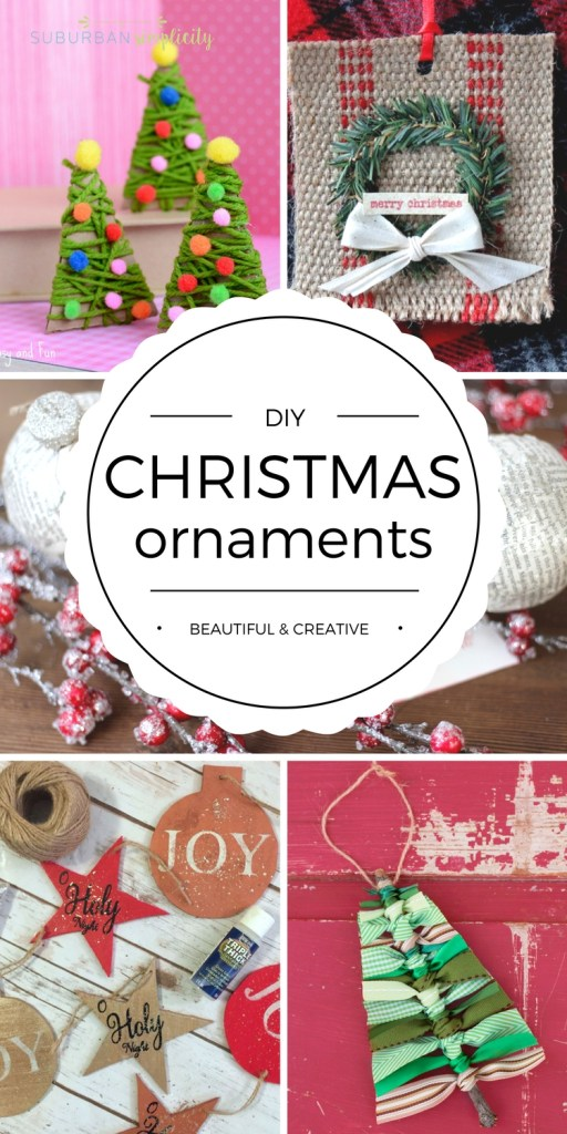 beautiful diy christmas ornaments - Beautiful Christmas Ornaments