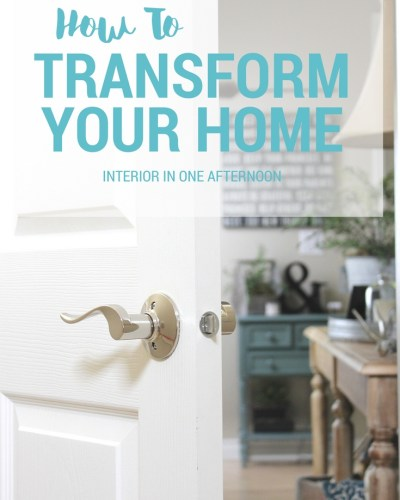 Transform Your Home transform your home archives - suburban simplicity