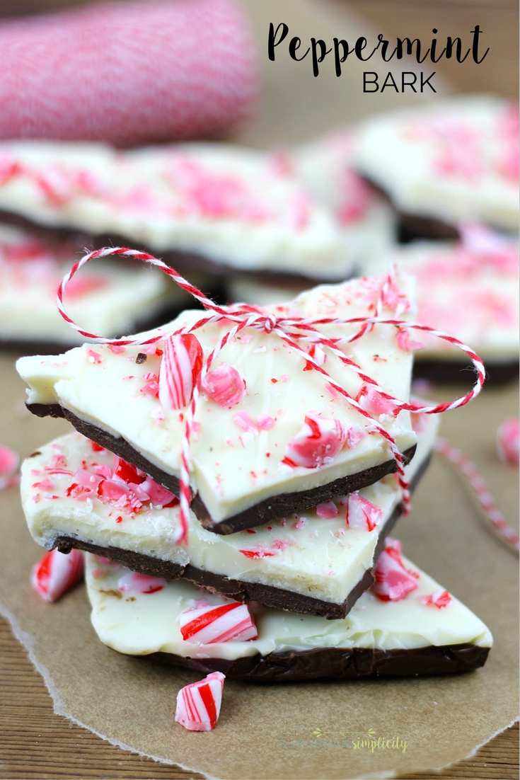 this peppermint bark is one of the quickest and most delicious holiday candy ideas chocolate edible homemade gift ideas - Christmas Crack Candy Recipe