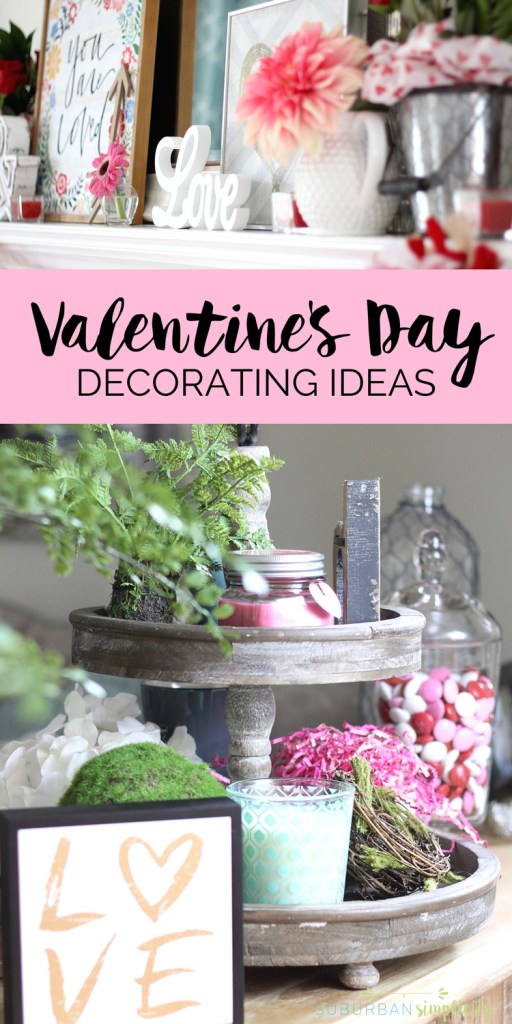 Wall Colour Inspiration: Valentine's Day Home Decorating Ideas