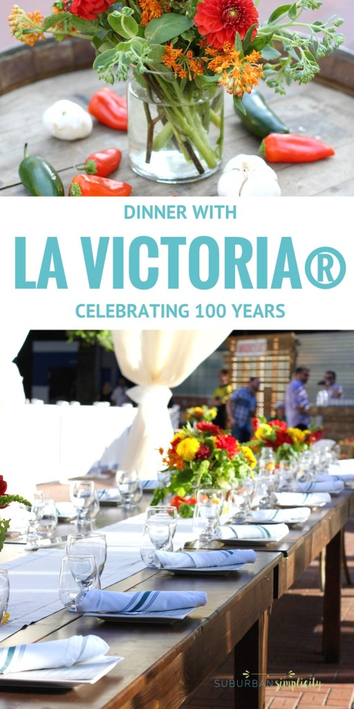 Come see what a delicious Dinner with LA VICTORIA® Brand celebrating their 100 anniversary tastes like! Music, art and of course flavorful Mexican food is on the menu! (sponsored)