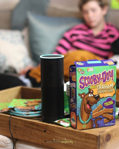 Family Fun Night Idea with Amazon Alexa and Scooby-Doo