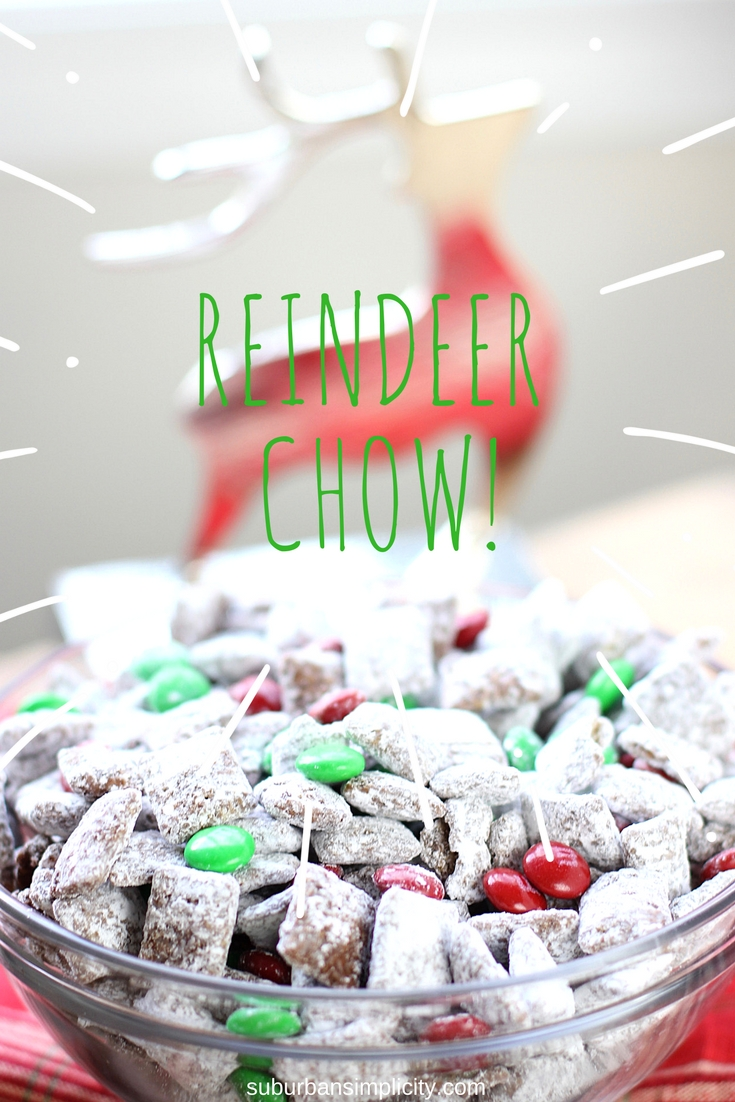 reindeer chow muddy buddies are the perfect christmas treat this easy christmas chex puppy chow - Christmas Puppy Chow